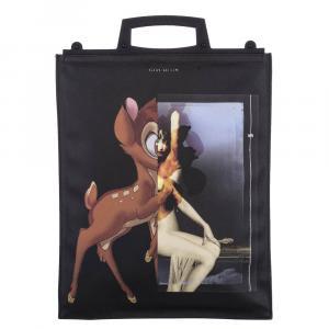Givenchy Multicolor/Black coated canvas Rave Bambi  Antigona Tote Bag