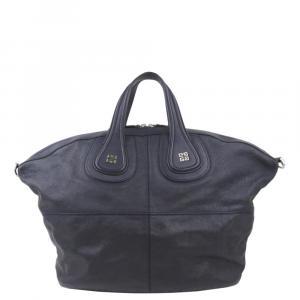 Givenchy Blue Leather Nightingale Bag