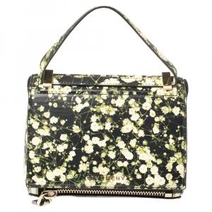 Givenchy Multicolor Printed Leather Mini Pandora Box Bag