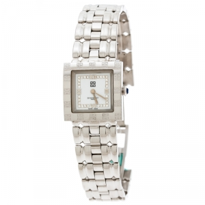 Givenchy Silver White Stainless Steel Apsaras CAL302005 Women's Wristwatch 23 mm