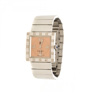 Givenchy Peach Stainless Steel Apsaras Women's Wristwatch 27 mm