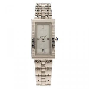 Givenchy White Stainless Steel Apsaras Women's Wristwatch 21MM