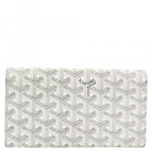Goyard White Coated Canvas Richelieu Wallet