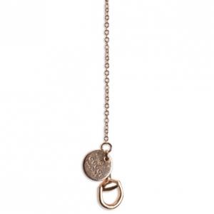 Gucci Horsebit 18 K Yellow Gold Lariat Necklace