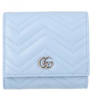 محفظة غوتشي جي جي مارمونت أزرق فاتح صغيرة