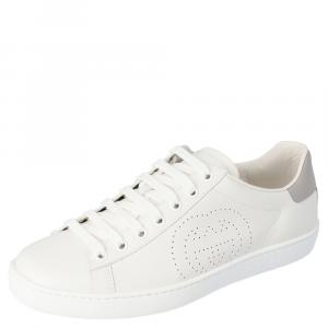 Gucci White Ace Sneakers Size 38.5