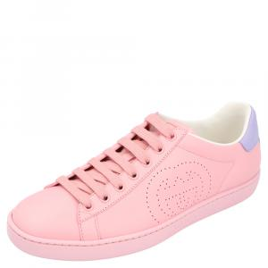 Gucci Pink Ace Sneakers Size 38.5