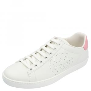 Gucci White Ace Sneakers Size 37