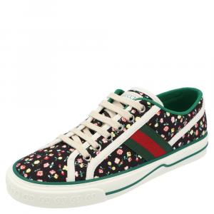 Gucci x Liberty London Floral Tennis 1977 Low Top Sneaker Size EU 36.5