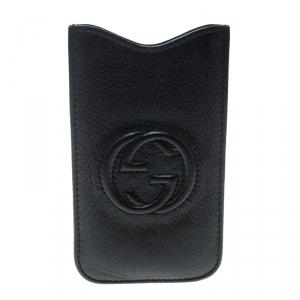 Gucci Black Leather Soho IPhone 5 Case