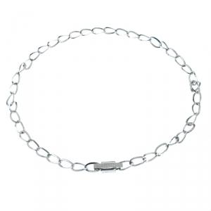 Gucci Chain Link Silver Tone Metal Waist Belt