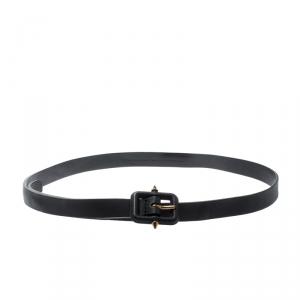 Gucci Black Leather Belt 90 CM
