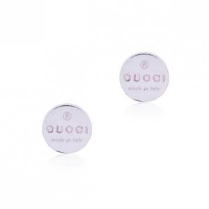 Gucci Pierced Silver Earrings