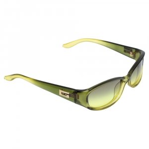 Gucci Green / Green Gradient GG 2456/S Rectangular Sunglasses