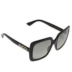 Gucci Black/Grey GG0418S Gradient Square Sunglasses