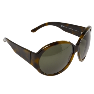 Gucci Green Tortoise GG2927 Strass Oversized Sunglasses