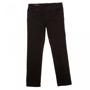 Gucci Black Denim Skinny Fit Jeans S