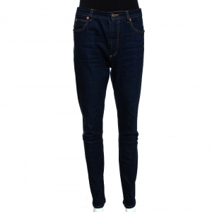 Gucci Indigo Dark Wash Stretch Denim Skinny Jeans M