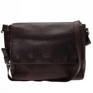 Gucci Brown Micro Guccissima Leather Joy Messenger Bag