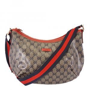 Gucci Beige/Brown GG Canvas Original Messenger Bag