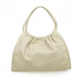 Gucci Leather Drawstring Hobo Handbag