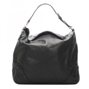 Gucci Black Charlotte Hobo Bag