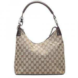 Gucci Brown GG Canvas Shoulder Bag