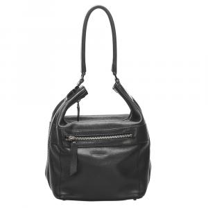 Gucci Black Leather Vintage Bag