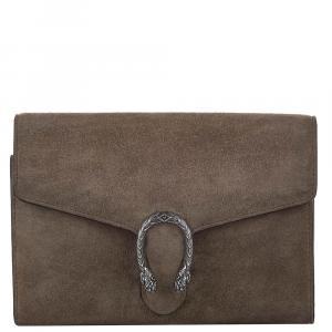 Gucci Brown Suede Dionysus Mini Bag