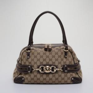 Gucci Monogram Wave Medium Boston Bag