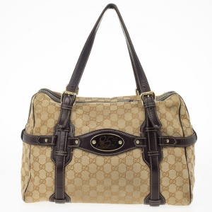 Gucci Guccissima 85th Anniversary Large Boston Bag