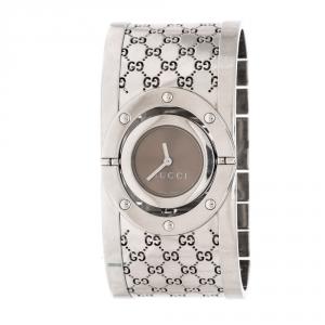 Gucci Bronze Stainless Steel Twirl 112 Women's Wristwatch 23 mm