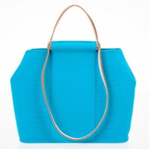 Hermes Canvas Cabag Blue Elan