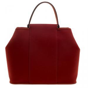Hermes Sienne Canvas Cabag Elan Bag