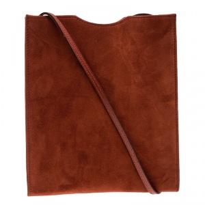 حقيبة صغيرة بالنسياغا أونيماتو سويدي برتقالي داكن