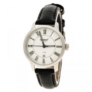 ساعة يد نسائية انجرسول غرفتون II ستانلس ستيل بيضاء 30مم