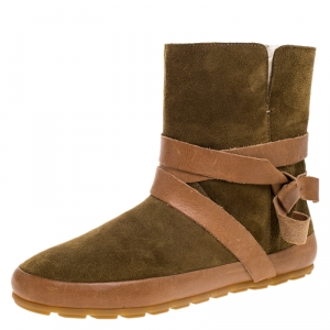 Isabel Marant Etoile Brown Suede Leather Nygel Ankle Boots Size 36 - used