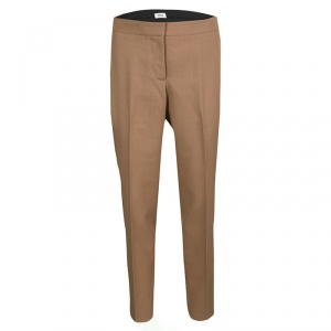 Issa Brown Wool Tailored Pants M