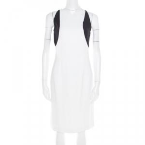 Jil Sander Monochrome Colorbolock Sleeveless Sheath Dress M - used