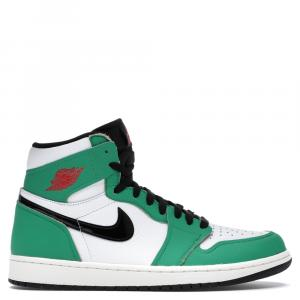Nike Jordan 1 Lucky Green Sneakers Size EU 40 (US 8.5W)