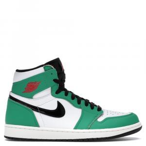 Nike Jordan 1 Lucky Green Sneakers Size EU 39 (US 8W)