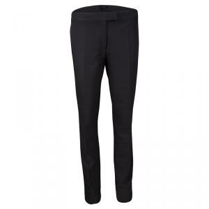 Joseph Black Stretch New Cotton Compact Finley Regular Fit Trousers M