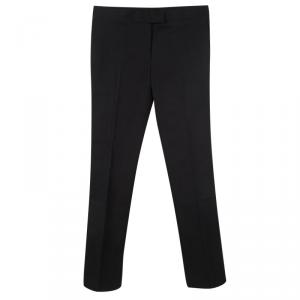 Joseph Black Stretch Gabardine Finley Regular Fit Trousers M