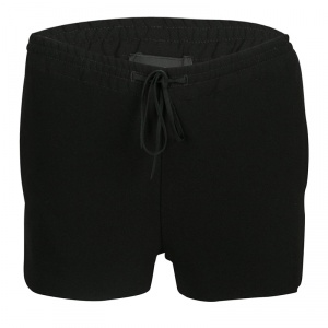 Joseph Black Stretch Crepe Elasticized Waist Shorts S
