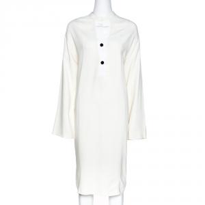 Joseph Off White Viscose Cady Eddie Tunic Dress M used