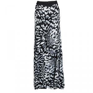 Just Cavalli Multicolor Printed Maxi Skirt L