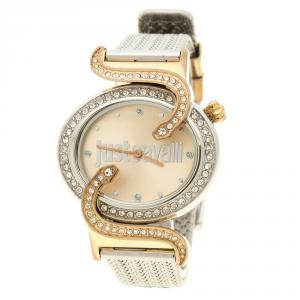 Just Cavalli Sin JC 2H Two Tone Stainless Steel 80824 Women's wristwatch 35 mm