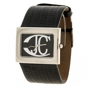 Just Cavalli Black Stainless Steel Rectangle Women's Wristwatch 35 mm