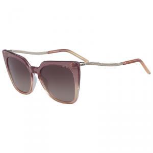 Karl Lagerfeld Rose Gradient Glitter KL956S Cat Eye Sunglasses