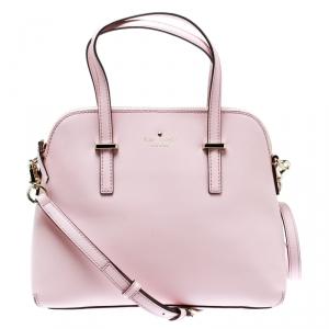 Kate Spade Pink Leather Cedar Street Maise Top Handle Bag